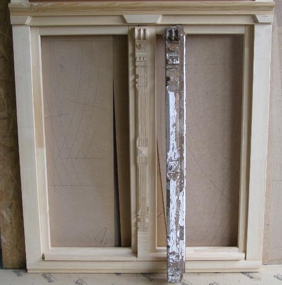 Odtworzenia ozdób okiennych w drewnie